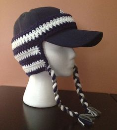 Ravelry: Team Spirit Baseball Cap Ear Warmer pattern by Pamela Bastian