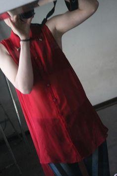 Czerwona mgiełka :)