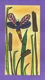 Artsonia Art Exhibit :: Dragonflies by the Pond