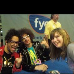 Me with LMFAO a very long time ago
