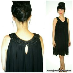 Gorgeous black dress 😃 Shop this look 😃👯💗🌼 http://www.jenniferkaya.com/product/black-loose-fit-sleeveless-dress-beaded-neckline/  #photooftheday #fashioinsta #fashionblogger #dress #necklace #accessories #jkshop  #jkboutique #beauty #instadaily #chic #dresses #fashion #style #cute #girl #instagood #hairstyle #statementnecklace #onlineboutique #jenniferkayacollection #black #shop #boutique #instafashion #onlineshopping #shopping #shopjenniferkayacollectionb
