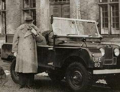 Winston Churchill's Series 1 Land Rover.