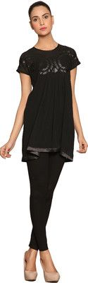 STYLISH PREGNANCY WEAR : Buy Label Solid Women's Tunic from Flipkart.