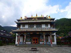 A Buddhist monastery in Pharping #Nepal