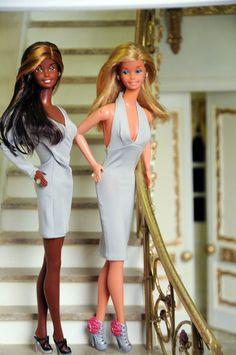 Beautiful Barbie Dolls, Barbie Dream, Barbie Outfits, Barbie Clothes, Barbie Top, Vintage Barbie, Doll Toys, Diorama, Fashion Dolls