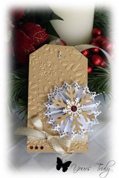 *YT* Christmas tag 7 by YoursTruly - Cards and Paper Crafts at Splitcoaststampers