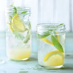 Lemon Verbena Lemonade | Williams-Sonoma - non alcoholic beverage for hot summer parties, kids refreshments or anytime u need to cool down