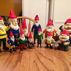 Gnomes with mini me gnomes#cokreeate #3dmodels #3dprinting #afinia #the-gnome-ranger#idesign by alanghill