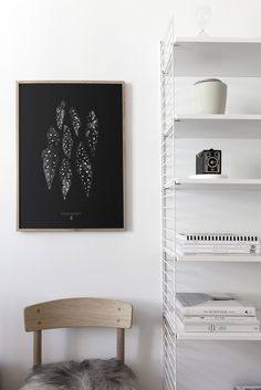 'Begonia Maculata' print by Coco Lapine