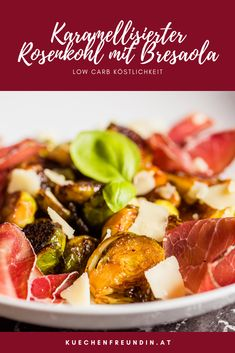 Hallo Winter, Low Carb, Foodblogger, Post, Vegetables, Dinner, Fancy Appetizers, Easy Starters, Caramelized Brussel Sprouts