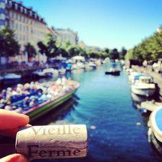 Feeling great in Copenhague! (with La Vieille Ferme!) #wine