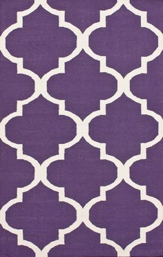 Purple Rugs with Geometric Patterns - Purple Bedroom Ideas  Master BR