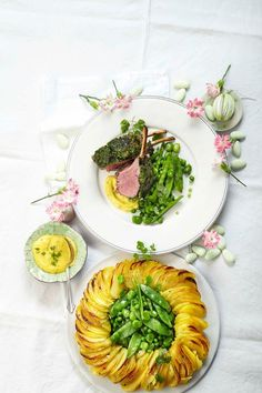 Easter Food, Easter Recipes, Risotto, Table Decorations, Friends, Roast, Meat, Cooking, Amigos