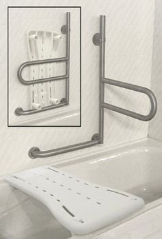 Installing a Bathroom Safety Bars is an inexpensive way to make your bathroom safer. People of all ages and abilities benefit from using bathroom grab bars. Ada Bathroom, Handicap Bathroom, Bathroom Safety, Small Bathroom, Bathroom Ideas, Bathroom Cabinets, Ada Toilet, Disabled Bathroom, Handicap Accessible Home
