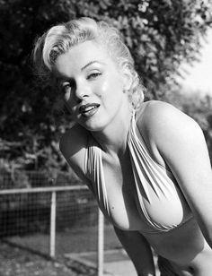 Marilyn at Westwood Village by Bob Beerman, 1950.