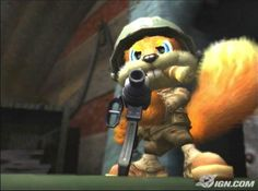 Conkers Bad Fur Day - the coolest squirrel ever