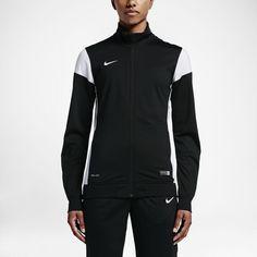 Nike Women's Soccer Jacket Size Small (Black)