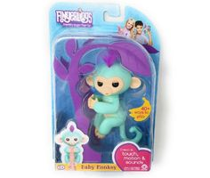 WowWee FINGERLINGS Interactive Baby Finger ZOE Monkey Kids Pet Toy Xmas Gift NEW #WowWee