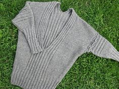 Lana Grossa Dolman Sleeve Sweater Pattern