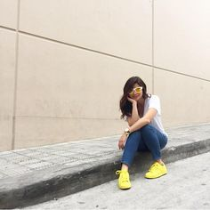 Anne Curtis for It's Showtime Anne Curtis Smith, Filipina, My Style, Ph, Ootd, Yellow, Spring, Summer, Image