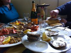 lunch at Mersea's Company Shed - had to drive round by water in the RIB, but that just adds to the pleasure...