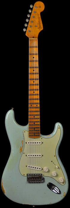 Fender Custom Shop 1956 Heavy Relic Stratocaster Sonic Blue