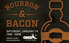 At OMSI: VIP AND GENERAL ADMISSION IS SOLD OUT. WE STILL HAVE A FEW SAFE DRIVER TICKETS LEFT SO HELP YOUR FRIENDS GET HOME SAFELY!Bourbon & Bacon: the most delicious duo around! Explore what makes these smoky treats the ultimate pairing. Shoot off water rockets, concoct chemical creations, and explore the wonders of OMSI with no kids in sight! Enjoy a glass of wine while learning about robots, tornados, or fossils. Talk to a brewer about the science behind beer, or taste how an extra 10%…