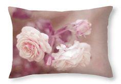 La Vie en Rose - Nostalgic Roses Throw Pillow for Sale by Jenny Rainbow Art Prints For Home, Home Art, Fine Art Prints, Framed Prints, Shabby Chic Style, Shabby Chic Decor, Designer Pillow, Pillow Design, Pillow Sale