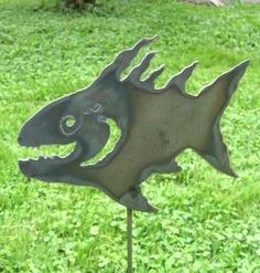 Funky Fish Garden Stake