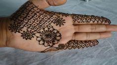 Mehndi Makeup Step By Step : Simple flower mehndi designs for hands makeup tutorial channel