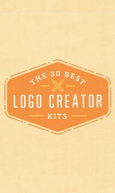 On the Creative Market Blog - The 30 Best Logo Creator Kits