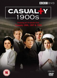 Casualty 1900s (2009)  A hospital drama that plunges the viewer into the Receiving Room of the London hospital in the East End. Every case and character is true. Focusing on cases, characters and events taken from the actual hospital records, it is an unbroken experience of life with doctors and nurses 100 years ago among the poor.  Tim Baker, Paul Brightwell, Nigel Cooke...TS drama..not on Netflix