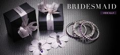 Don't forget your wedding party. Tejani fro your bridesmaids at Mira Bridal Couture