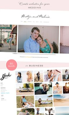 If you're thinking about a wedding website    Virb Build your own website | 100 Layer Cake