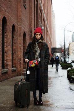 冬の旅行スタイル
