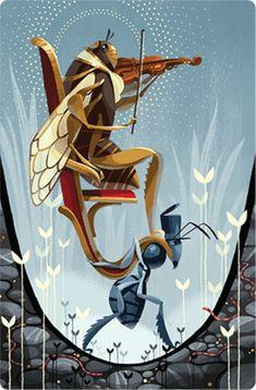 Dixit 7: Revelations (rozš.) - Rodinné hry   iHRYsko - spoločenské hry pre deti a dospelých Cards On The Table, Urban Setting, Cute Toys, Cubism, Story Inspiration, French Artists, The Expanse, New Art, Alice In Wonderland