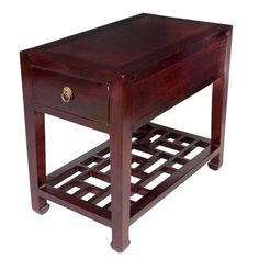 I pinned this Quon Side Table from the Forgotten Shanghai event at Joss and Main!Sale $899.95... but is it too short?