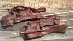 Bacon und Schokolade das passt, deftig und herbe süß eine Klasse Mischung beim nächsten mal mache ich noch Chiliflocken mir rein.     Zut...