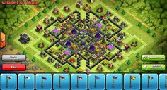 Perfect farming base town hall 9