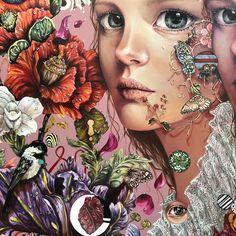 Зображення може містити: одна або кілька осіб Art And Illustration, Girls With Flowers, Mexican Artists, Fairytale Art, Painting People, Color Pencil Art, Fairy Art, Art Pictures, Photos