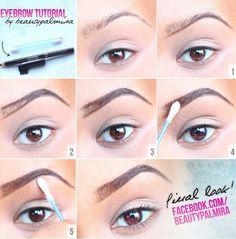 Eyebrow Tutorial by Beautypalmira
