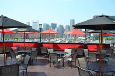 10 Restaurants With Incredible Rooftop Dining In Massachusetts ---- Atlantic Beer Garden, Boston Moving To Boston, In Boston, Boston Tour, Boston Strong, The Places Youll Go, Places To Go, Boston Living, Rooftop Dining, Boston Vacation