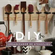 Timestamps Satisfying glue gun stamp ideas Quartz eggs Cute clay crafts Amazing hot glue gun ideas DIY easy earrings This video. Diy Kitchen Storage, Home Decor Kitchen, Kitchen Organization, Kitchen Furniture, Utensil Storage, Modern Kitchen Cabinets, Kitchen Cabinet Design, Storage Ideas, Diy Home Decor Projects