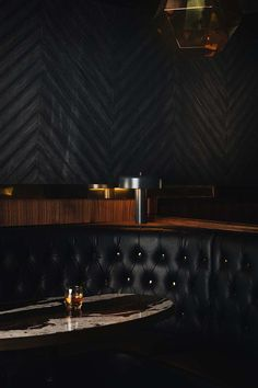 Gold Diggers Los Angeles is the dive bar reborn setting Hollywood alight Bar Interior Design, Bar Design, Restaurant Interior Design, Hotel Lounge, Bar Lounge, Lounge Decor, Dark Restaurant, Restaurant Lounge, Plywood Furniture