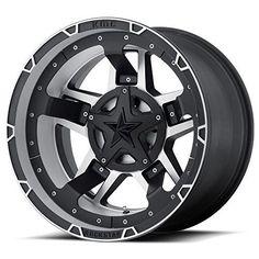 4-16x8 Black Wheel Moto Metal MO970 6x135 6x5.5 0