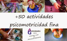 AYUDA PARA MAESTROS: Recopilación de 50 actividades para trabajar la psicomotricidad fina