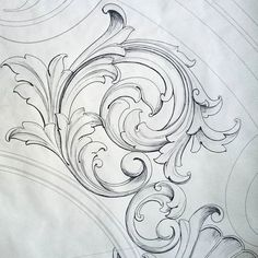 # drawing # sketch # pattern # ornamentdesign # mywork # beautifulart # ornament # r . Ornament Drawing, Art Drawings, Drawings, Filigree Tattoo, Drawing Sketches, Tattoo Stencils, Engraving Art, Carving Designs, Filigree Design