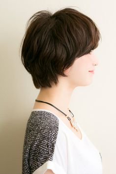 大人かわいい おしゃれ マッシュショート | drive for garden(ドライブフォーガーデン)のヘアスタイル・髪型・ヘアカタログ - 美美美コム