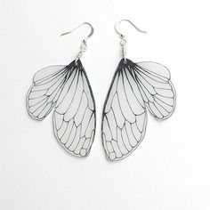 Hey, I found this really awesome Etsy listing at http://www.etsy.com/listing/123713055/cicada-wing-dangle-earrings