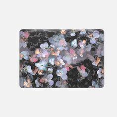 "Casetify Macbook Pro 15"" (2016 - 2017) Macbook Snap Case - Dark painted delicate pansy petals II by oana"
